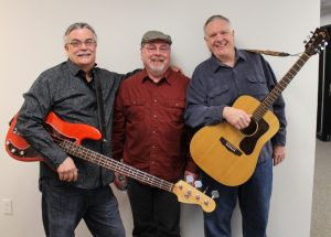 Big Boss Blues Trio: From left, Bill LaValley, Joe Ferguson and Charles Schantz. (Photo/Anna Sink)