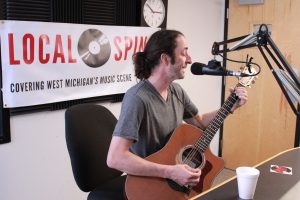 Molinari on Local Spins Live (Photo/Anna Sink)