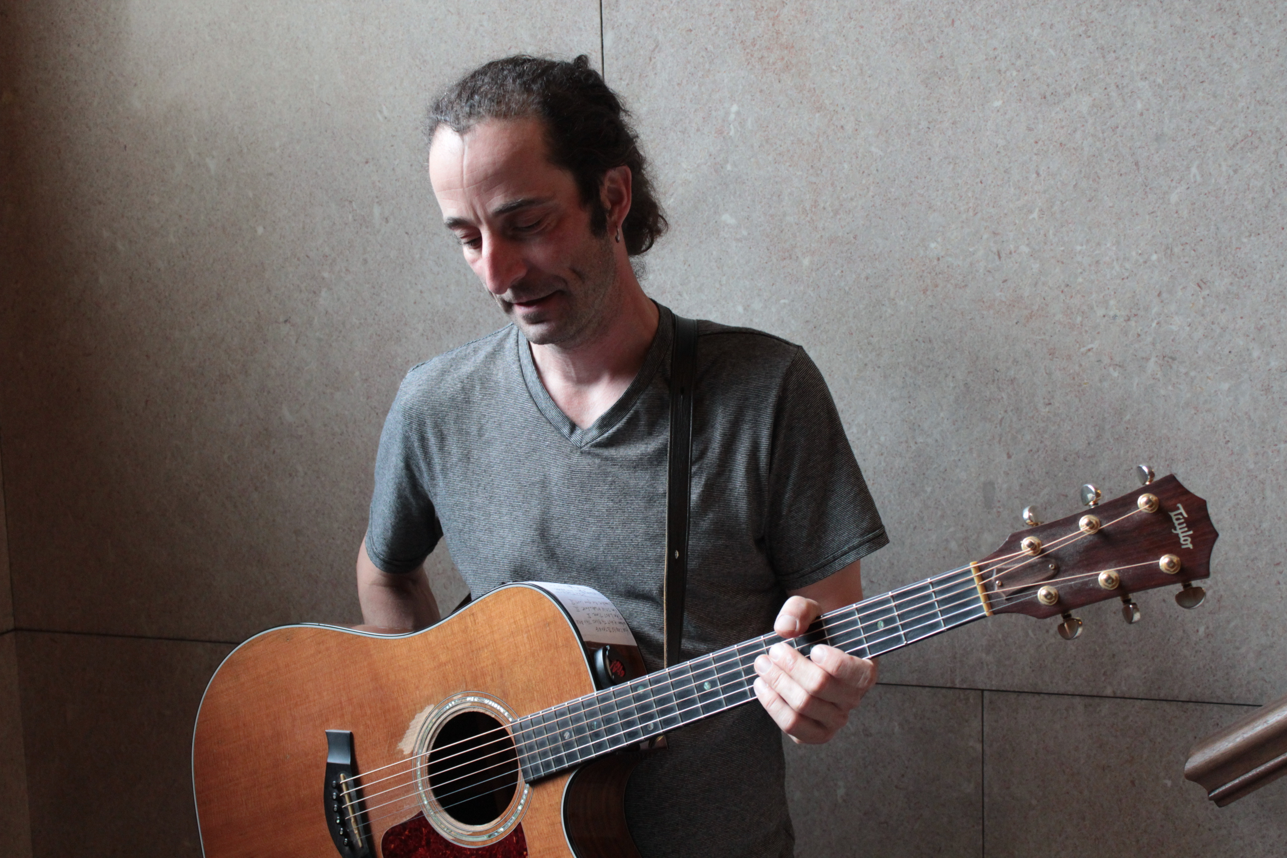 Tunesmith: Singer and multi-instrumentalist David Molinari. (Photo/Anna Sink)