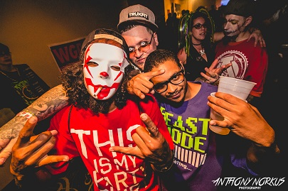 Juggalos United: Part of the crowd at The Orbit Room on Thursday. (Photo/Anthony Norkus)