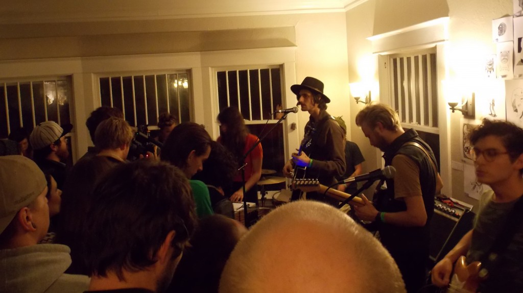 Living Room Rock: The Soil & The Sun played to a jam-packed house at last year's Lamp Light fest. (Photo/Local Spins)