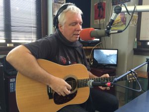In-Studio: Nagy on Local Spins Live at WYCE-FM. (Photo/Local Spins)
