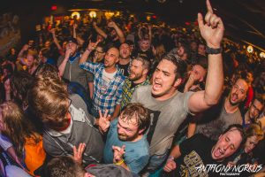 Ready to Party: The Pyramid Scheme's capacity crowd. (Photo/Anthony Norkus)