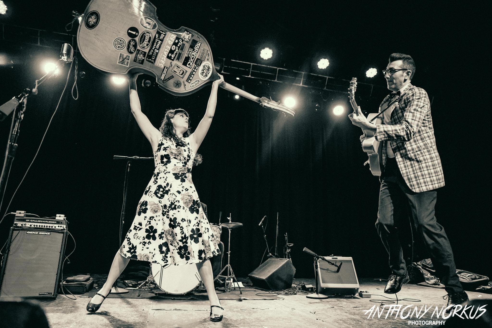 Halloween Playlist: Rockabilly's Delilah DeWylde scares up retro faves
