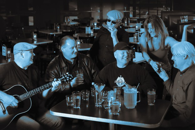 "Still Bringing the Blues: Thirsty Perch Blues Band has been unleashing ""rockin' blues"" since 2008. (Photo/Michael Koole)"