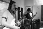 Ear Muzik: Trash Hounds in Studio X during Local Spins on WYCE. (Photo/Anna Sink)