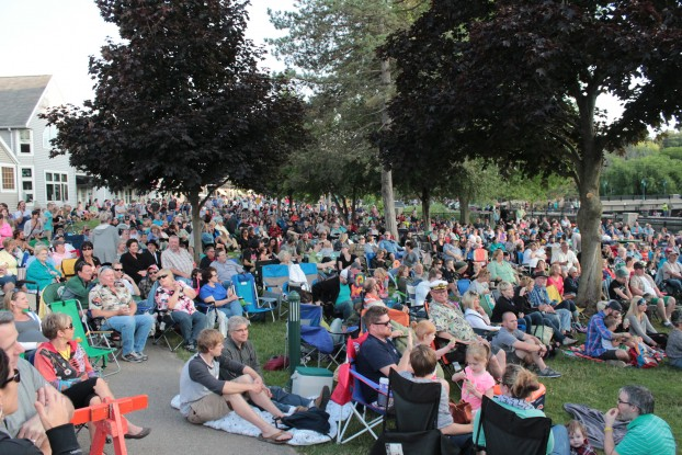 Community Concert Paradise: West Michigan boasts many summer series, including this one in Rockford. (Photo/Anna Sink)