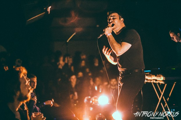 Sold-Out Sensation: The gracious and passionate .. of Future Islands has experienced the 'magic' of The Pyramid Scheme. (Photo/Anthony Norkus)