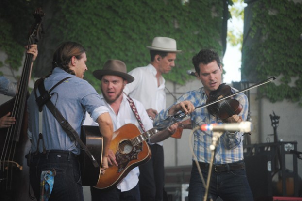 Michigan-Bound: Old Crow Medicine Show's return to Meijer Gardens is sold out, but the band also plays Interlochen and Fox Theatre. (Photo/Anna Sink)