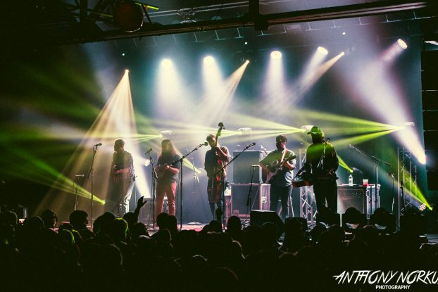 Three-Fer: Greensky Bluegrass plays three straight sold-out shows this week in Kalamazoo. (Photo/Anthony Norkus)