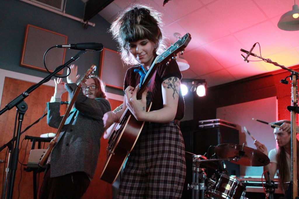 Olivia Mainville & The Aquatic Troupe at River City Studios. (Photo/Anna Sink)