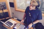 Expanding His Sound: Norty, aka Kyle Norton, during Local Spins on WYCE. (Photo/Local Spins)