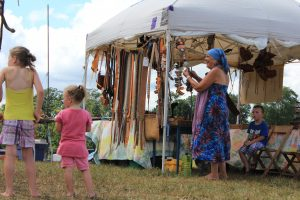 Top of the Hill: Vendors at Cowpie Music Festival (Photo/Anna Sink)