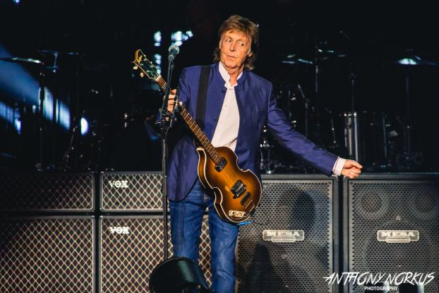 History-Making: Sir Paul McCartney's August concert set sales records at Van Andel Arena. (Photo/Anthony Norkus)