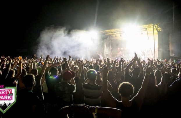 Rollicking in the Park: Nelly, Fat Joe and more fired up the WSNX party at Fifth Third Ballpark. (Photo/Eric Stoike)