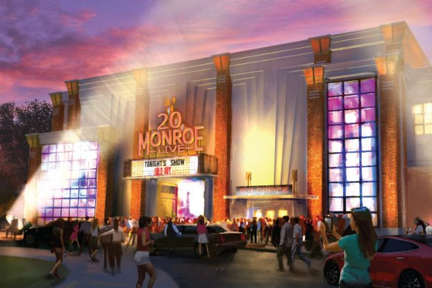 20 Monroe Live: This is a rendering of the new House of Blues venue being built next to The B.O.B.