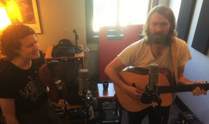 In Studio X: Red Tail Ring performing for Local Spins on WYCE. (Photo/Local Spins)