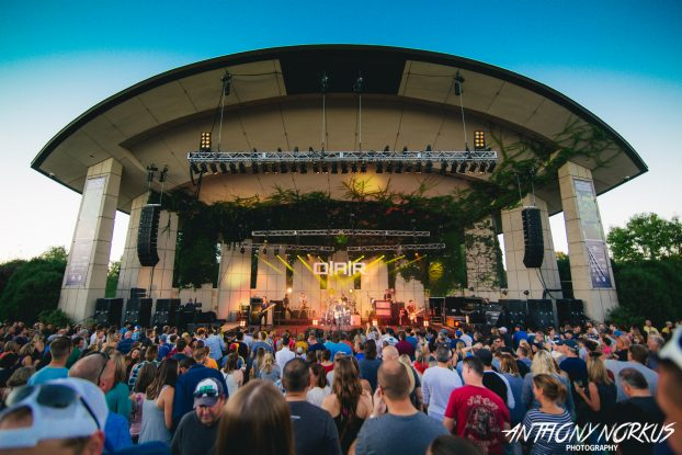 The Sound of Music -- and the Challenges for Musicians: Paul Winkler, of Corporate Live, which provides sound for Meijer Gardens concerts and numerous other events, says some things haven't changed over the decades, but new tools are available. (Photo/Anthony Norkus)