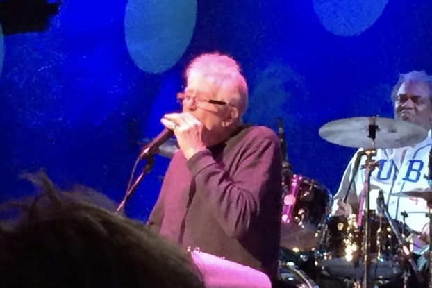 New Recording, Fresh Energy: John Mayall rose to the occasion for a West Michigan crowd. (Photo/Mark R. Smith)