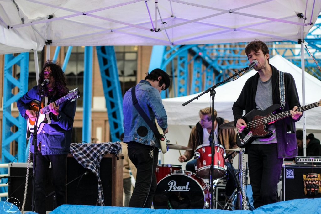 Outdoor Rock: Heaters will play the first-ever Ice Jam at Perrin Brewing on Jan. 28. (Photo/Taylor Mansen)