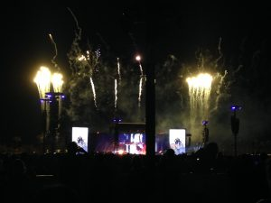 Fireworks: On stage and off at Desert Trip