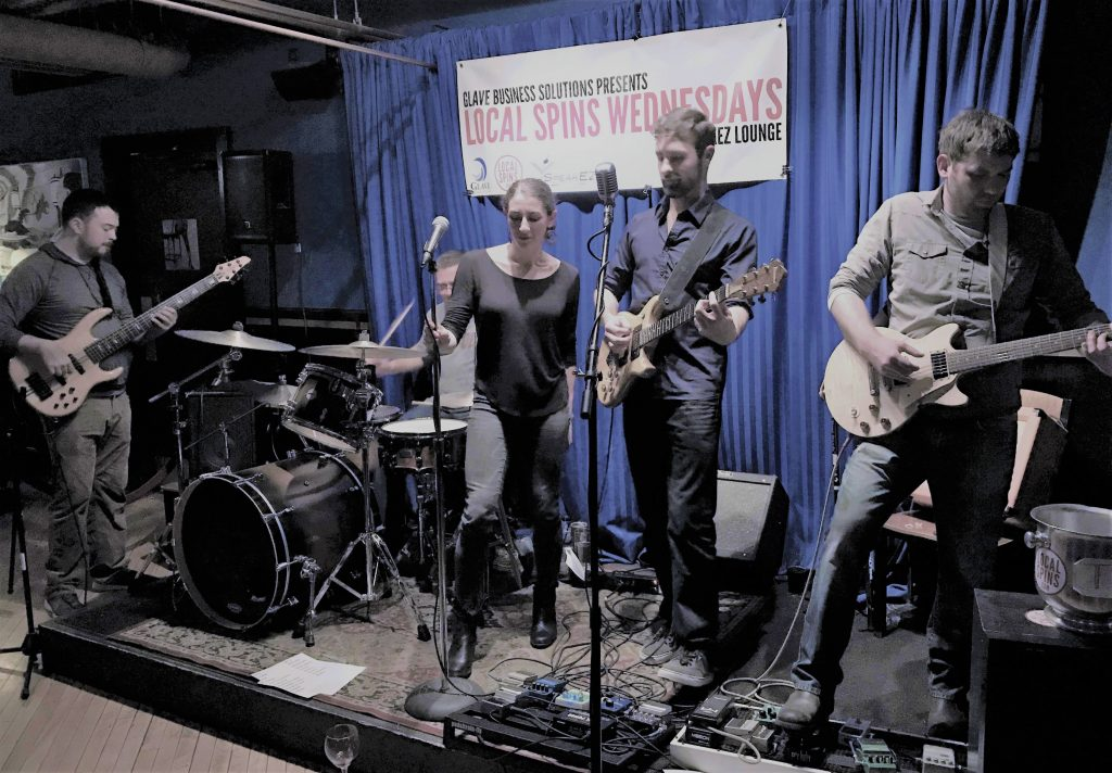 Groovy and Rocking: The Sauce at SpeakEZ Lounge on Wednesday. (Photo/Local Spins)