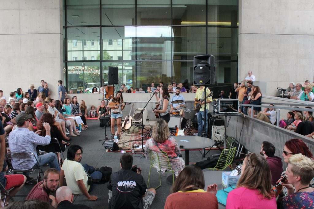 GRAM on the Green set to sizzle in July and August with six concerts on the Grand Rapids Art Museum Terrace