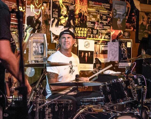 Chad Smith from Red Hot Chili Peppers surprises fans by sitting in with three bands at three Grand Rapids venues