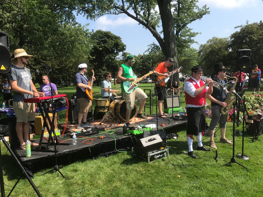 Melophobix and Cosmic Knot top bands to win Grand Haven's 2017 Walk the Beat competition