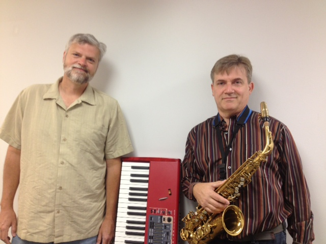Jazz Versatility: Pianist Steve Talaga, at left, and multi-instrumentlist Tom Lockwood of Mind's Eye. (Photo/Local Spins)