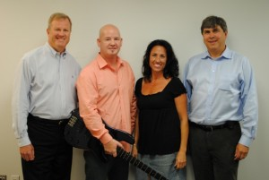 "From left, Kevin Paul, Tom Brown, Tara McLaughlin and Steve ""Doc"" Bloom of MLC."