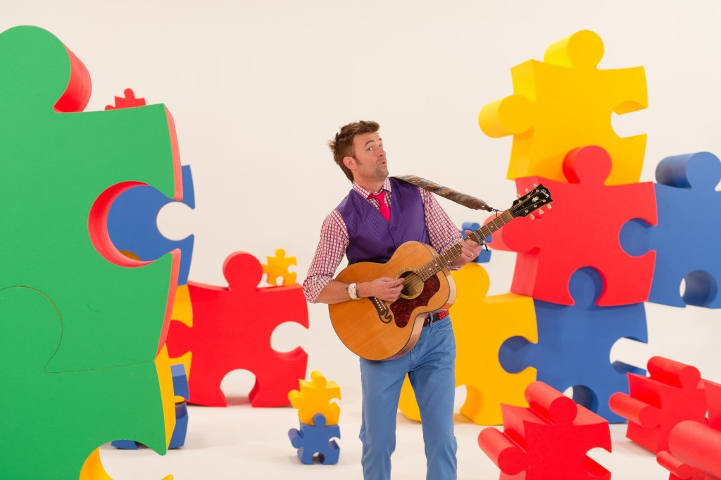 Charlie (& Brian) & Company: Brian Vander Ark wrote more than 20 songs for the new children's video series.