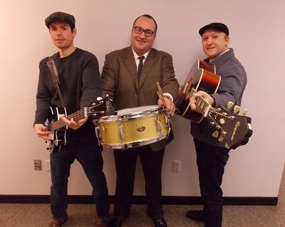 The JetBeats: From left, David Jimenez, Justin Rutkauskas and Morgan May Moallemian. (Photo/Anna Sink)