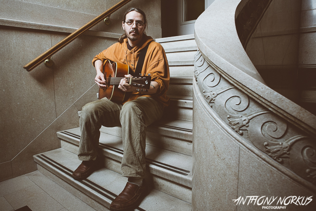 Folk and Acoustic Rock Revivalist: Nicholas James Thomasma (Photo/Anthony Norkus)