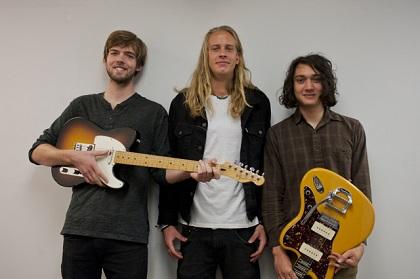 Heaters: From left, Nolan Krebs, Josh Korf and Andrew Tamlyn. (Photo/Tori Thomas)