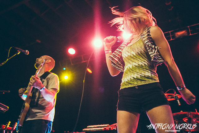 Bowery opened for Minus the Bear at The Intersection, and opened a hectic weekend of live music in West Michigan. (Photo/Anthony Norkus)