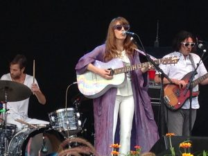 Jenny Lewis played a set following opener Belle Brigade. (Photo/Mike Coon)