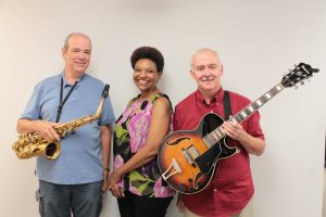 Terrific Trio: From left, Bob Nixon, Edye Evans Hyde and Michael Hyde. (Photo/Anna Sink)