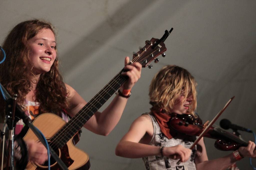 Making a Splash: The Accidentals made an extraordinary debut at Wheatland. (Photo/Anna Sink)