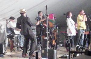 A Bandbox Jubilee: Rachael Davis and band. (Photo/Local Spins)