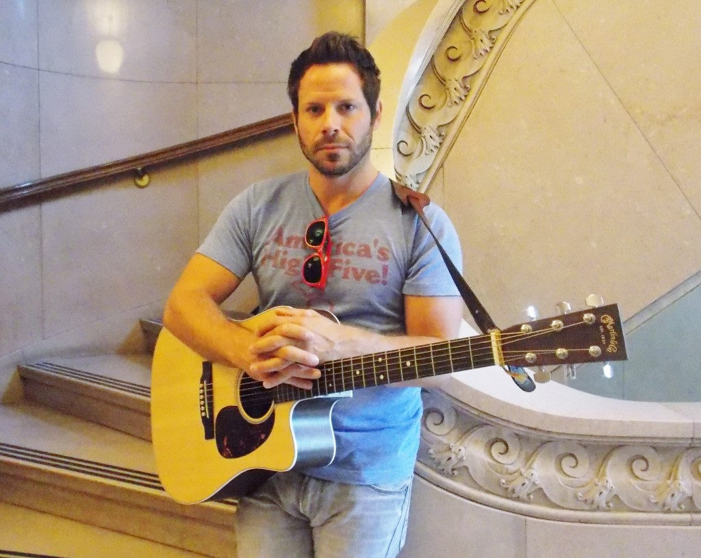 Music Thats 'More Like Poetry': Singer-songwriter Brett Mitchell. (Photo/Local Spins)