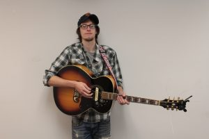 Different Vibe: Lockwood's solo tunes found a home outside of Big Dudee Roo. (Photo/Anna Sink)