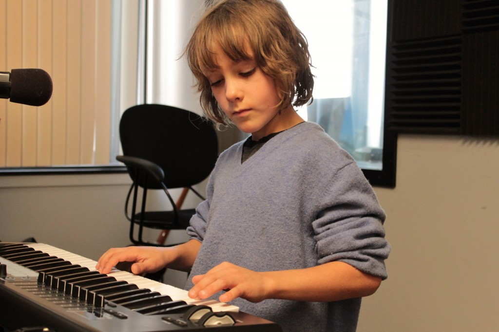 Born With the Gift: Milo Birch, 10, has recorded three albums and even impresses veteran musicians. (Photo/Anna Sink)