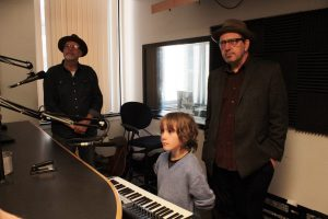 All-Star Trio: Madeira, Birch and Ralston Bowles on Local Spins Live. (Photo/Anna Sink)