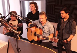 In-Studio: American WiFi on Local Spins Live. (Photo/Anna Sink)