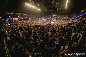 Tuesday Night Sellout:  Van Andel Arena was packed. (Photo/Anthony Norkus)