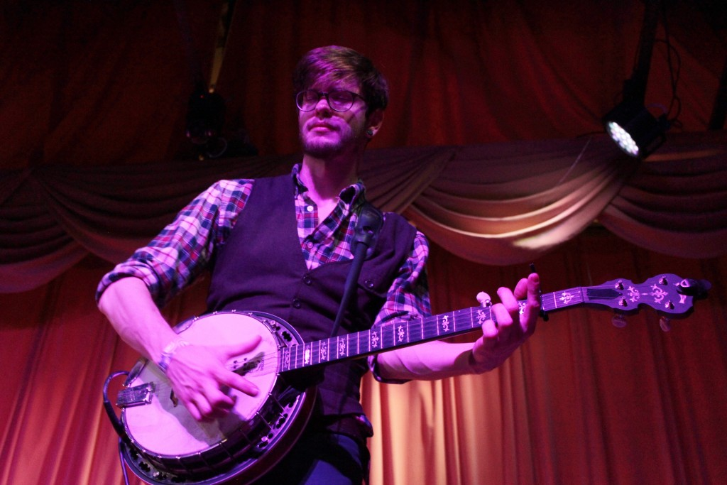 The folk-rock band's longtime banjoist played his final show with the group at Founders on New Year's Eve; pursuing new musical project dubbed Great Lakes Natives.