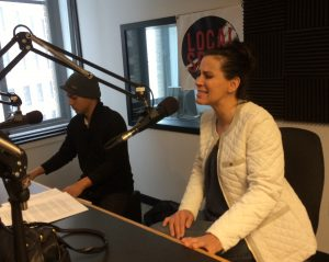 In the Studio: Downie, with Craig Avery, on Local Spins Live. (Photo/Local Spins)