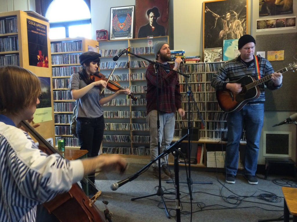 Fast-Rising Folk-Rockers: Watching for Foxes during Local Spins on WYCE. (Photo/Local Spins)