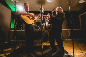 Soul the Feeling:  Billy Strings, Kevin Gills and Don Julin. (Photo/Anthony Norkus)